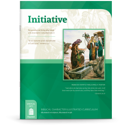 Biblical Character Illustrated Curriculum: Initiative