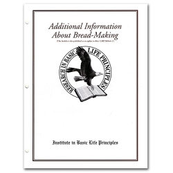 Additional Information about Bread-Making