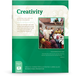 Biblical Character Illustrated Curriculum: Creativity