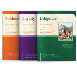 Biblical Character Illustrated Curriculum Set 1-3