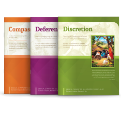 Biblical Character Illustrated Curriculum Set 7-9