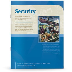 Biblical Character Illustrated Curriculum: Security