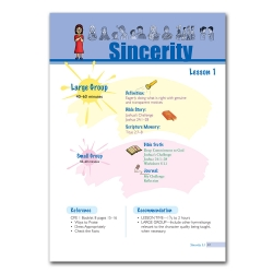 Biblical Foundation of Character - Sincerity
