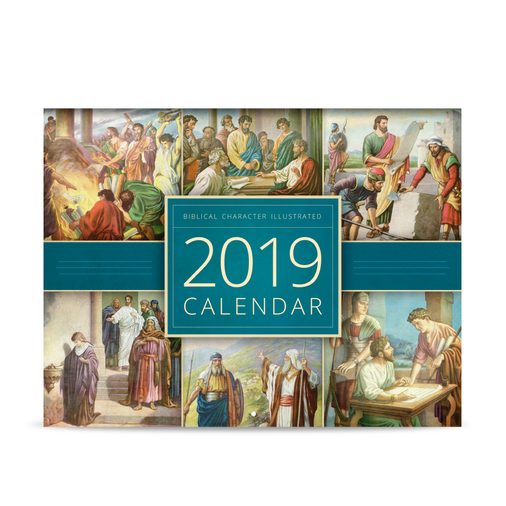 Biblical Character Illustrated 2019 Calendar