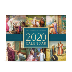 Biblical Character Illustrated 2020 Calendar