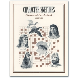 Character Sketches: Crossword Puzzle Book (Vol I)