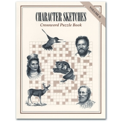 Character Sketches: Crossword Puzzle Book (Vol II)