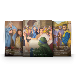 Biblical Character Posters (Set of 12)