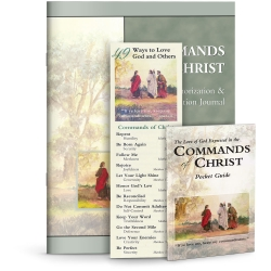 Commands of Christ Memorization and Meditation Tools Set