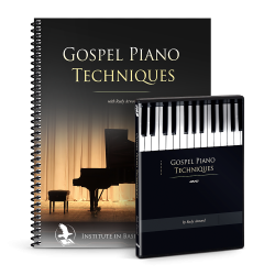 Gospel Piano Techniques Book & DVD Set