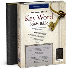 Hebrew-Greek Key Word Study Bible - KJV - Black