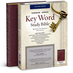 Hebrew-Greek Key Word Study Bible - KJV - Burgundy