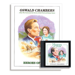 Heroes of Faith: Oswald Chambers Audiobook (CD) & Booklet