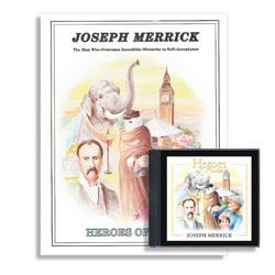 Heroes of Faith: Joseph Merrick Audiobook (CD) & Booklet