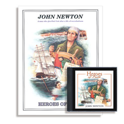 Heroes of Faith: John Newton Audiobook (CD) & Booklet