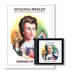 Heroes of Faith: Susanna Wesley Audiobook (CD) & Booklet