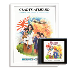 Heroes of Faith: Gladys Aylward Audiobook (CD) & Booklet