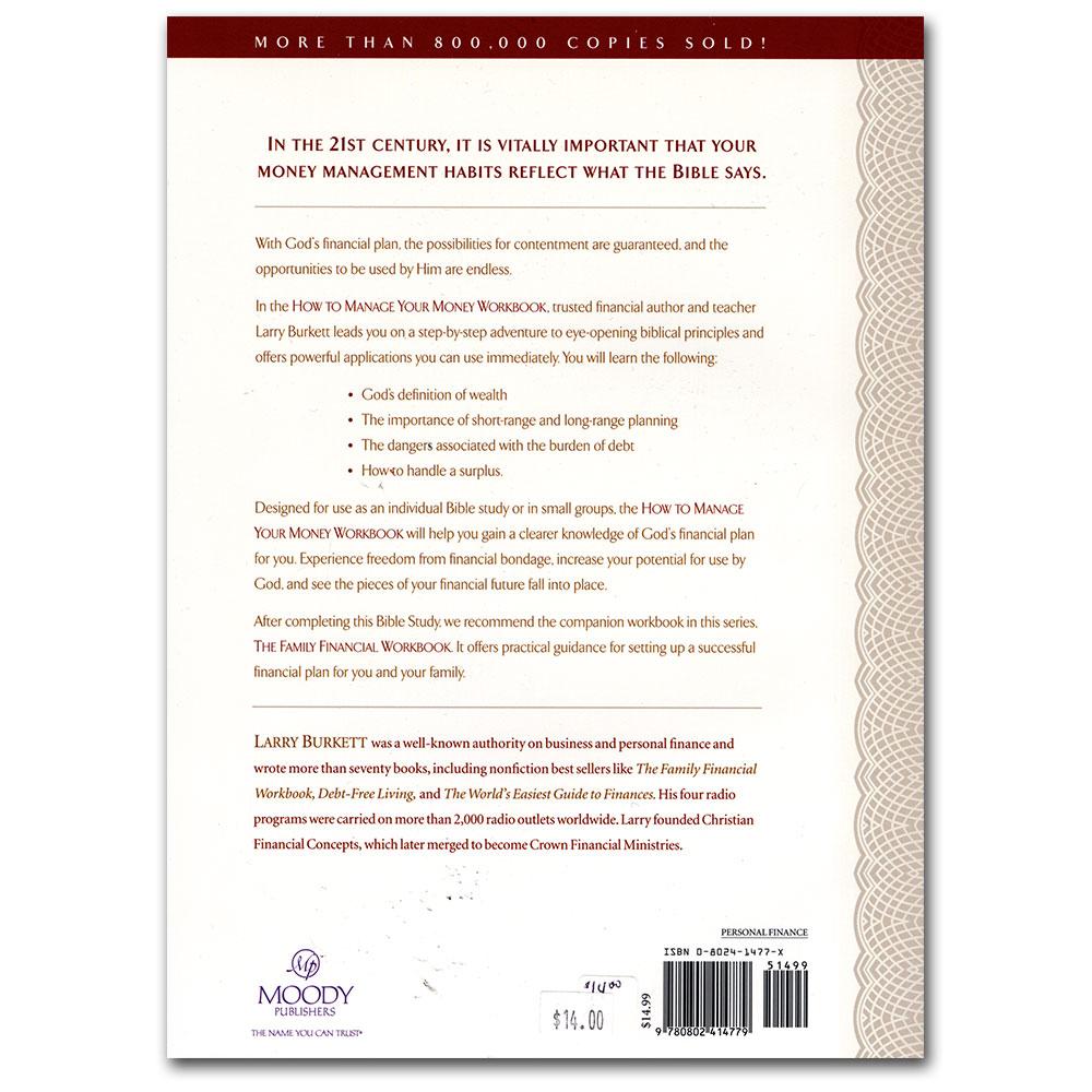 Workbooks money workbook : IBLP Online Store: How to Manage Your Money Workbook