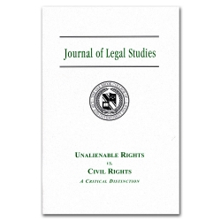 Journal of Legal Studies 5 - Unalienable Rights