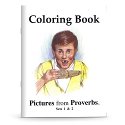 Pictures from Proverbs Coloring Book
