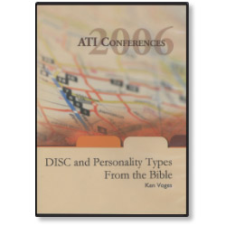 DISC and Personality Types From the Bible (DVD)