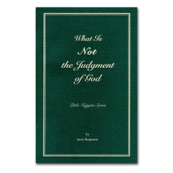 What is Not the Judgment of God