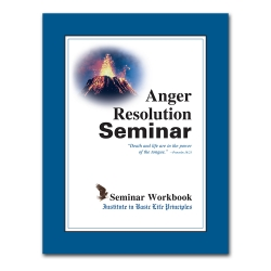 Anger Resolution Seminar Workbook