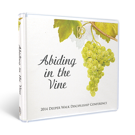 DVD Abiding in the Vine Set: 2014 Deeper Walk Discipleship Conference