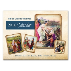 Biblical Character Illustrated 2016 Calendar