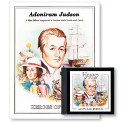 Heroes of Faith: Adoniram Judson Audiobook (CD) & Booklet