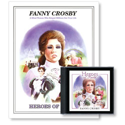 Heroes of Faith: Fanny Crosby Audiobook (CD) & Booklet