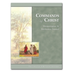 Commands of Christ Memorization and Meditation Journal