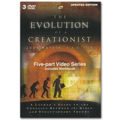Evolution of a Creationist DVD