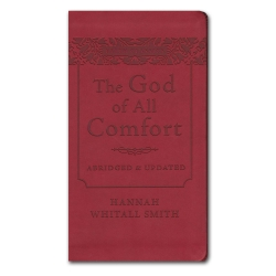The God of All Comfort (Leather Edition)