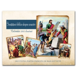 Biblical Character Illustrated 2015 Calendar <b>(Romanian)</b>