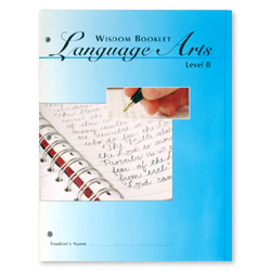 Wisdom Booklet Language Arts, Level B 5–8