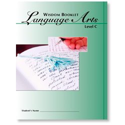 Wisdom Booklet Language Arts, Level C 1-4