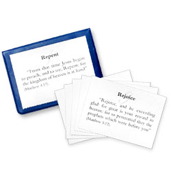 Commands of Christ Memory Cards and Holder