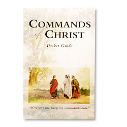 Commands of Christ Pocket Guide